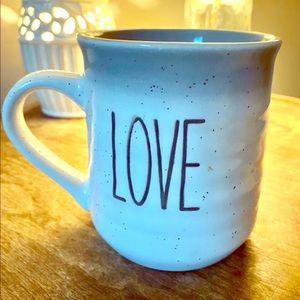 "Sheffield Homes Pottery ""Love"" Mug"